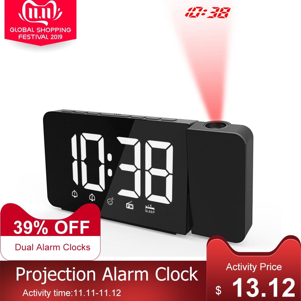 USB Projection <font><b>Alarm</b></font> <font><b>Clock</b><