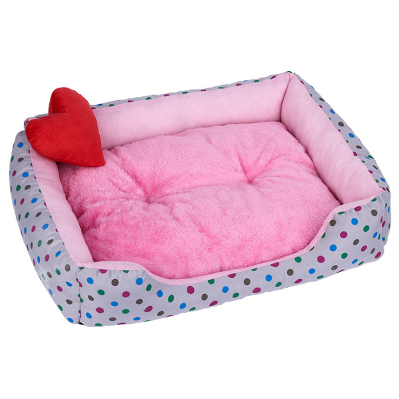 Pet Dog Bed Mat Puppy Cat Fleece Warm Bed House Plush Cozy Nest Mat Pad Pet House Bed Sofa Sleeping Bag Nest Kennel Dogs Pad