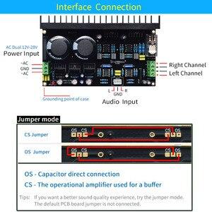 Image 5 - UNISIAN TDA7293 DC servo Auido Power Amplifier board 100W+100W TDA 7293 OP07 NE5534 High Power Amplifiers for Home audio system