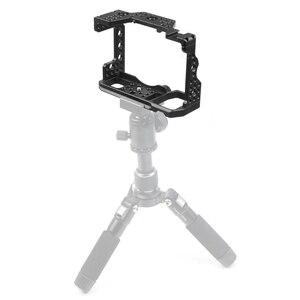 Image 5 - Aluminium Qr Handheld Camera Kooi Voor Sony A7RIII/A7III/A7MIII Slr Dslr Mount Statief Beugel Fotografie Extension Kit