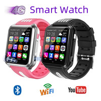 Reloj inteligente 4G con tarjeta SIM para niños, dispositivo con Wifi, Internet, HD, grabación de videollamadas, vídeo, Android 9,0, resistente al agua
