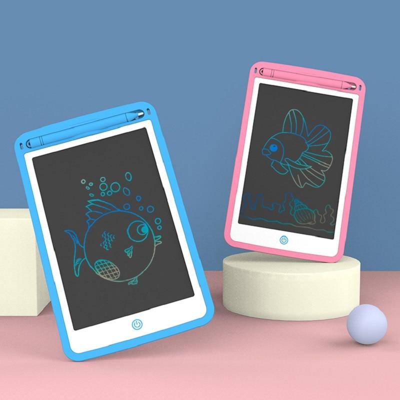 Planche à dessin LCD 8.5-12 pouces, jouets pour bébés, tablettes, dessin éducatif précoce, écriture artisanale pour enfants, peinture, jouets Montesori