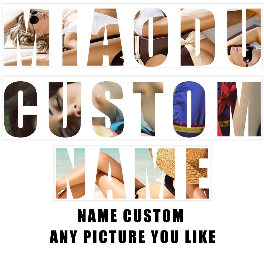 Name Custom Diamond Painting Photo Custom Full Square 5D Cartoon Name Letter Cross Stitch Mosaic Home Decor Kids Ideal Gift