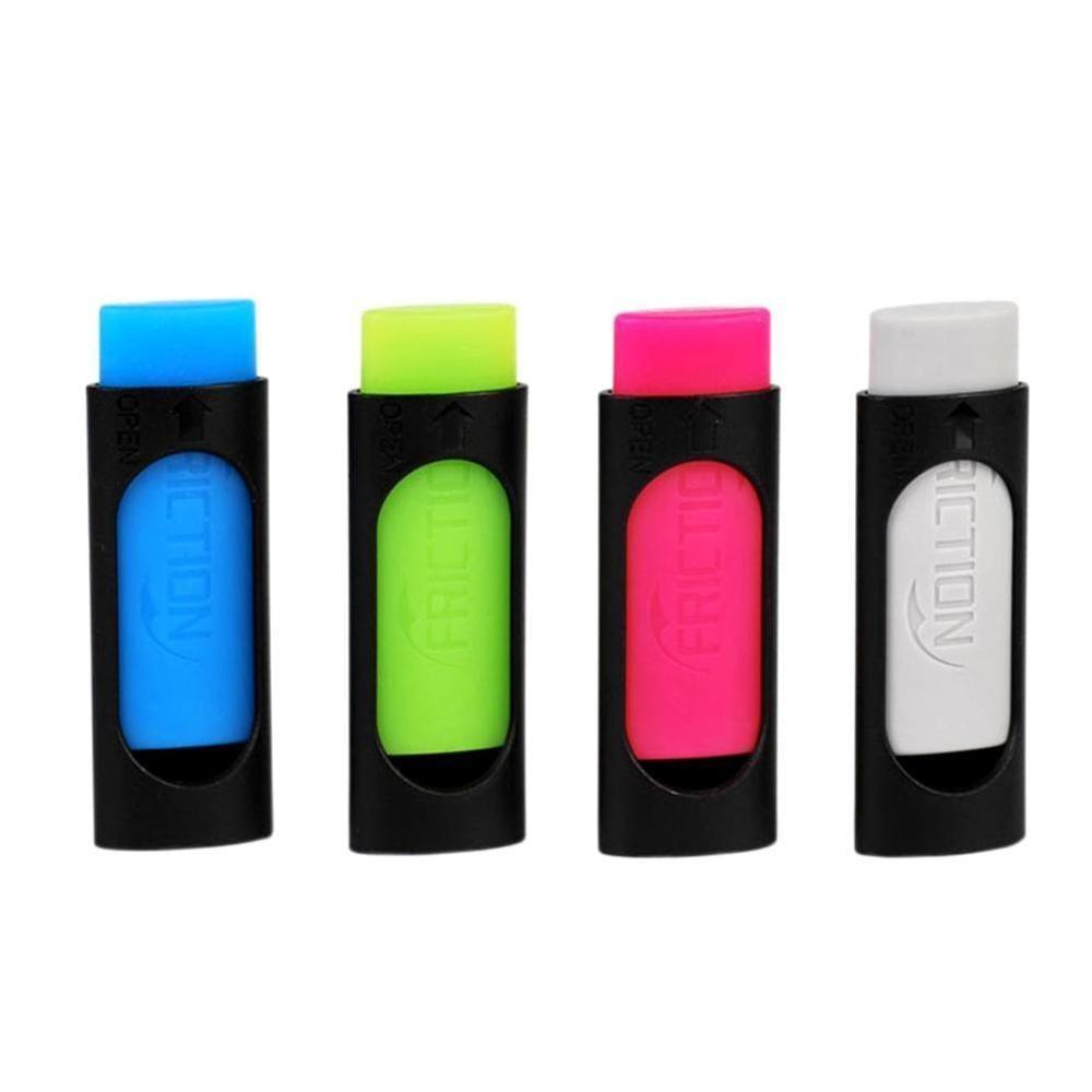 Rubber Eraser For Erasable Friction Pen Stationery Office School Supply Gift Eraser For Erasable Gel Pen