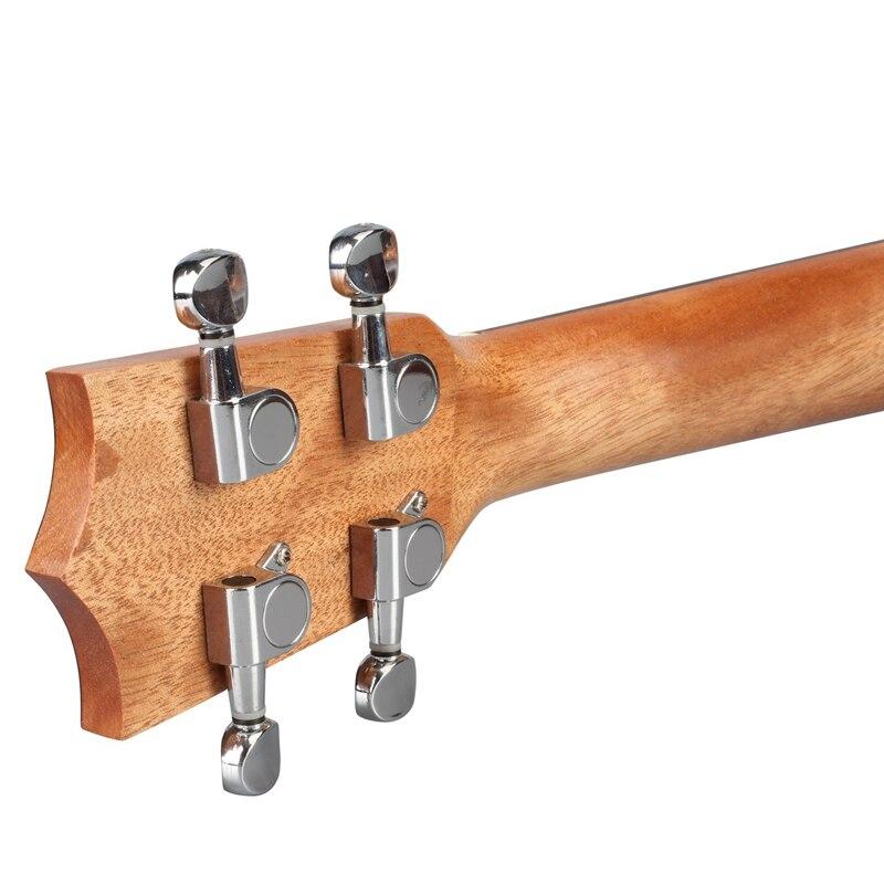 Burks ukulélé Soprano ukulélé 21 pouces bois de rose Uku ukulélé avec corde Aquila Mini Hawaii guitare Instruments de musique - 5