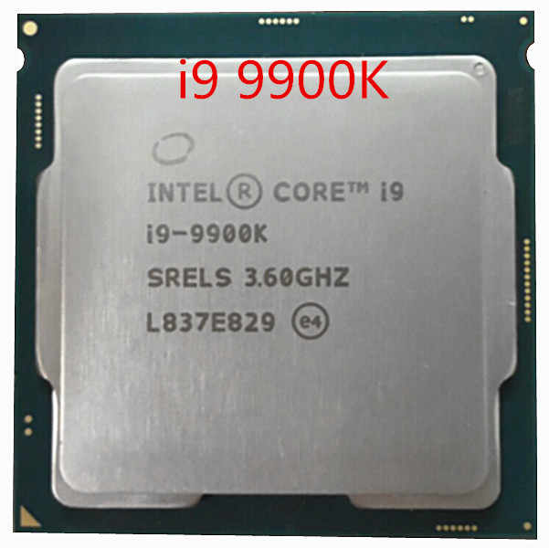 Intel Core 3,6 Ghz 8 núcleos 16 hilos Gamer Office Pc Intel I9 9900K I9-9900K es procesador de datos