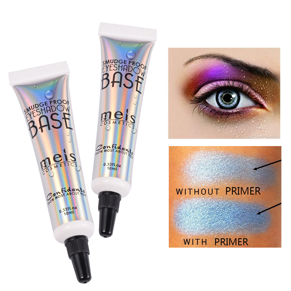 MEIS Eyeshadow Primer Cream Enhancers Shadow Color Makeup Smooth Long Lasting Waterproof Eye Shadow Protecting Eyes Base 10ml