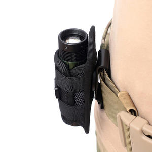 Holster-Case Pouch Flashlight-Cover Belt Survival-Kits-Accessories Hunting-Bags for 360-Degrees