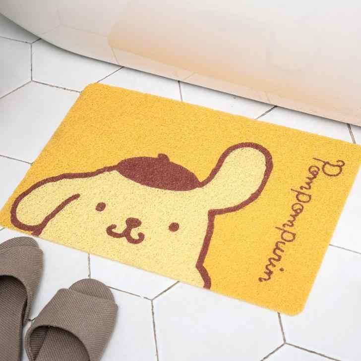 1 Pcs Nette My Melody Pudding Cinnamoroll Hund Anime Teppich Haushalts Weichen Teppich Schlafzimmer Fußmatten Anti-slip Bath fußmatte Spielzeug