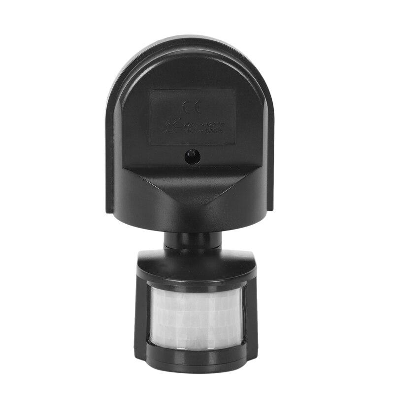 Interruptor de Sensor de movimiento Pir para exteriores AAAE Top-Ac110V ~ 240V lámpara de luz de pared 180 grados Sensor Detector Pir interruptor de Sensor de movimiento Led Luz LED de noche con Sensor de movimiento PIR, lámpara LED de noche, iluminación de techo, lámparas de techo para sala de estar