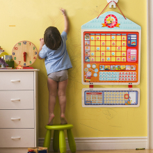 Деревянная Магнитная награда, диаграмма ответственности, календарь, детский график, развивающие игрушки для детей, календарь, время, игрушки
