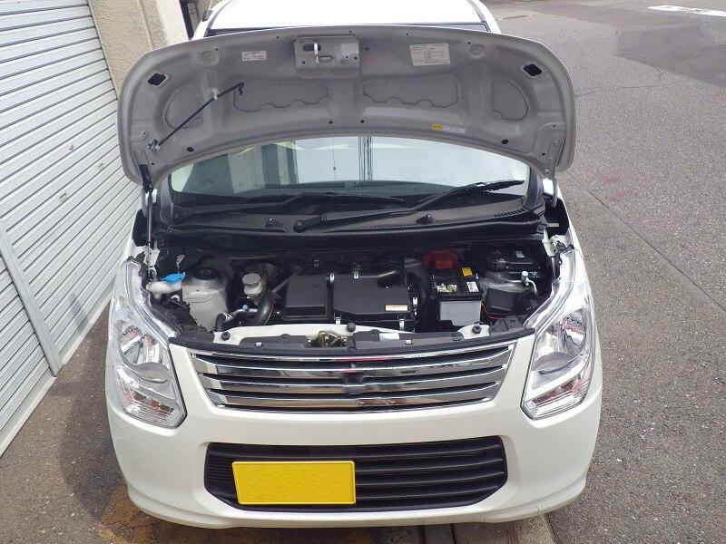 Для 2012 2013 2014 2015 2016 2017 Suzuki Wagon R MH34S передний капот газовые стойки подъемные амортизаторы из углеродного волокна