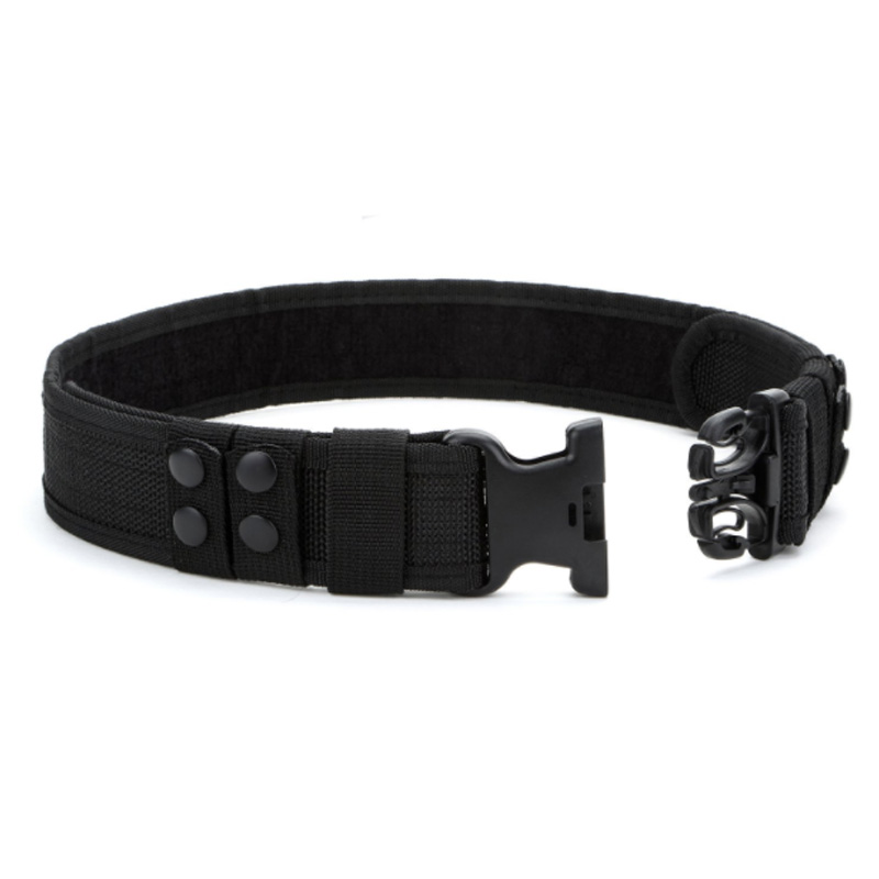 Quality Safety Combat Belts Practical Equipment Adjustable Heavy Police Users Foreign Equipment Waist Support     - title=