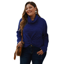 Autumn and winter new explosive sweater woman, pure color jacket knitted sweater, original design 2019, comfortable relaxed