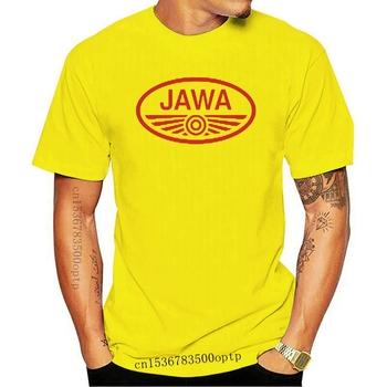 Nowa koszulka z krótkim rękawem Jawa 2021 koszulka z krótkim rękawem z krótkim rękawem JAWA 67 tanie i dobre opinie CASUAL SHORT CN (pochodzenie) COTTON Cztery pory roku Na co dzień Z okrągłym kołnierzykiem 2018 men women Sukno Drukuj
