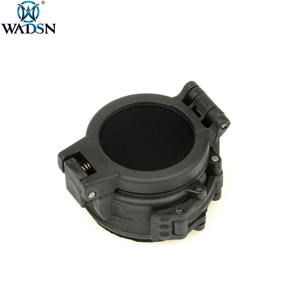 WADSN Flashlight IR Infrared Filter For Surefir M300 M600 IR Airsoft Sports Tactical M600U M600W Flashlight Diameter 25mm