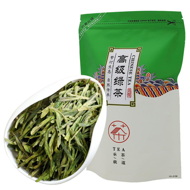Famous Good Quality Dragon Well 2019 New Spring Long-Jing Green Tea