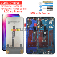 Original for Huawei Honor 20/ Honor 20 Pro LCD Display Screen Touch Digitizer Assembly LCD Display 10 Point Touch Repair Parts