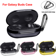For Samsung Galaxy Buds Hard Case TPU Electroplating Scratch Resistance Headphone Protective Cover