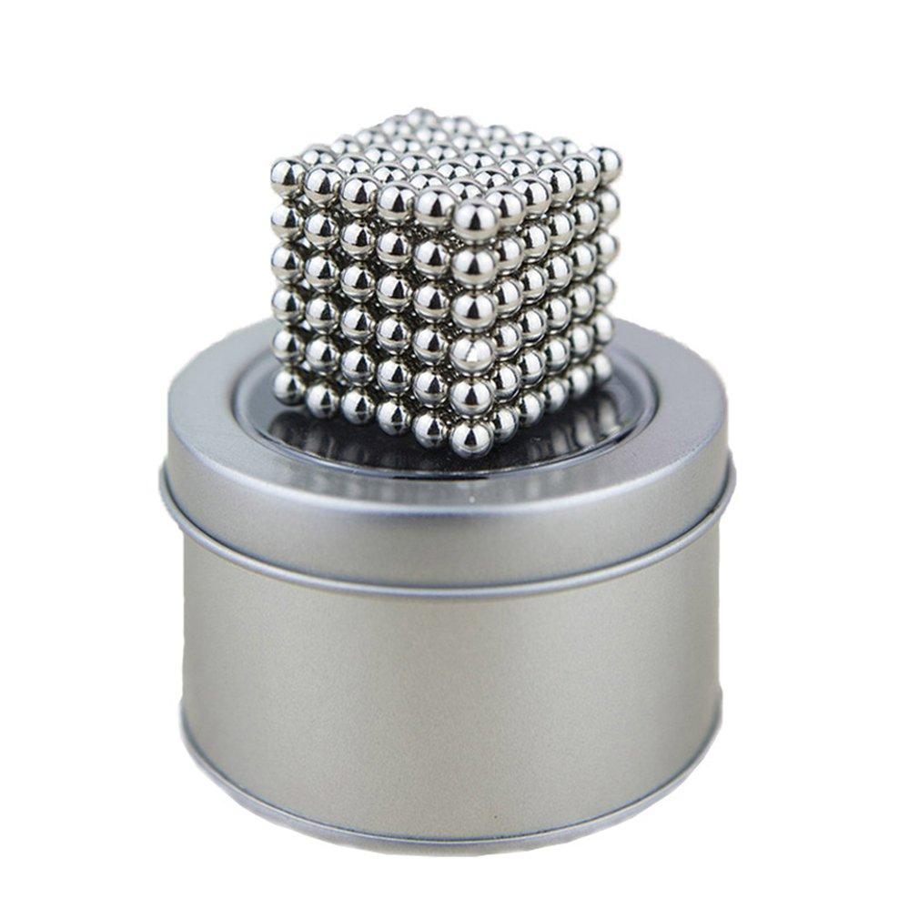 Magic Magnet Magnetic Blocks Balls Diy Sphere Cube Beads Building Toys Leisure Decompression Magic Cube Toys
