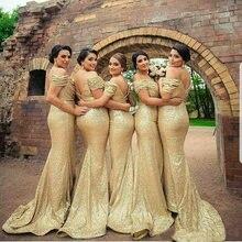 Новые золотые свадебные платья расшитые блестками с открытыми