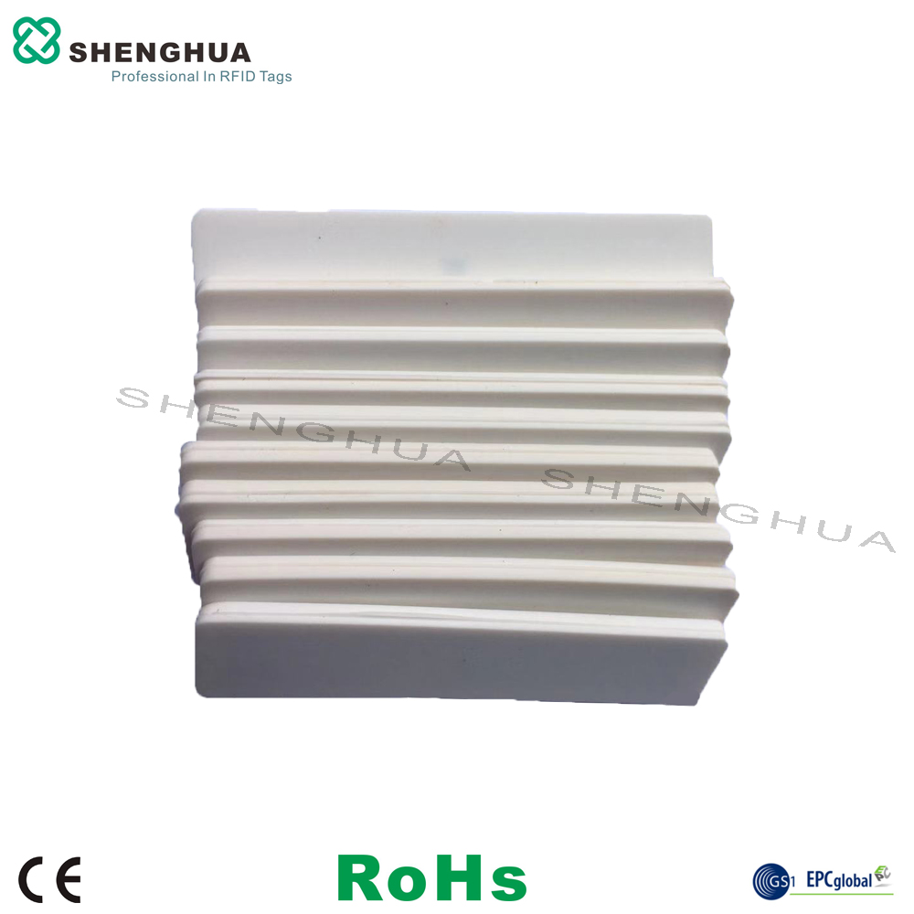 10pcs/pack RFID Laundry Tag Washing Label UHF Rfid Silicone Smart Sticker White Security RFID Label For Hotel Tower Tracking