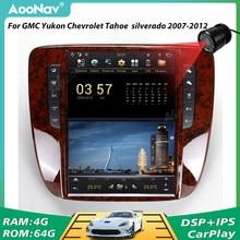 PX6 Radio de coche 2 Din para GMC Yukon Chevrolet Tahoe 2007, 2008, 2009, 2010, 2011, 2012 GPS navegador estéreo reproductor Multimedia