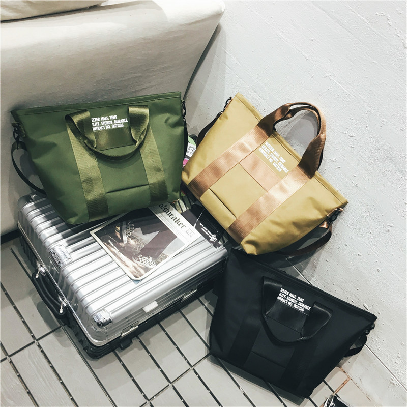 New Women's Bag, Leisure Dual-purpose Slant Bag, Short-distance Travel Single-shoulder Bag, Fashion Fitness Handbag, 2019