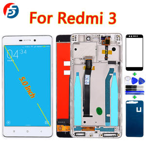 Lcd-Display Assembly-Frame Touch-Screen Xiaomi Redmi Digitizer for 3s/3 1280--720