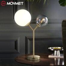 Креативный современный минималистичный двойной стеклянный шариковый
