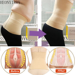 Lose Weight Slimming Belt Slimming Lumbar Sheath Flat Stomach Abdominal Nylon Shapewear Anti Cellulite Slim Patch Slimming Wraps
