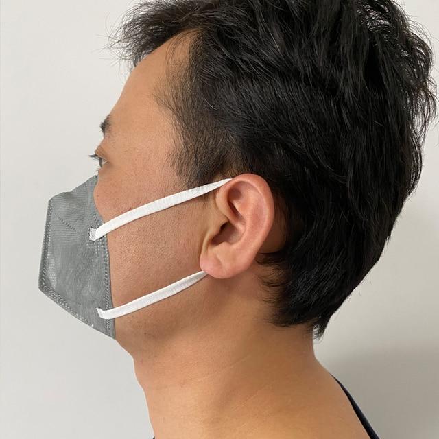 Mouth Mask Viscose Cute PM2.5 Anti Haze Black Dust Mask Nose Filter Windproof Face Muffle Bacteria Flu Fabric Cloth Respirator 4