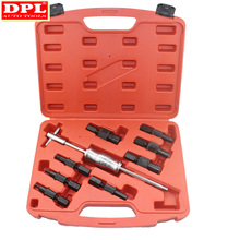 Kit de martillo deslizante, Extractor de cojinetes interno, Kit de eliminación de cojinetes, 9 unidades