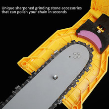 Garden Chain Saw Sharpener Chainsaw Portable Durable Easy Power Sharp Rod Fast Grinding Chain Saw Chain Sharpener(China)