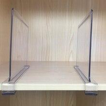 Acrílico transparente roupas partição livros clapboard desktop armazenamento divisor parede armário separador prateleira de armazenamento de mercadorias