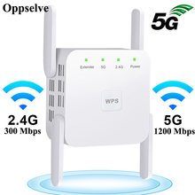 5Ghz Wireless WiFi Repeater 5G 2,4G WiFi Router 1200Mbps Verstärker Wi Fi Long Range Extender Wi fi Repeater Signal Wi Fi Booster