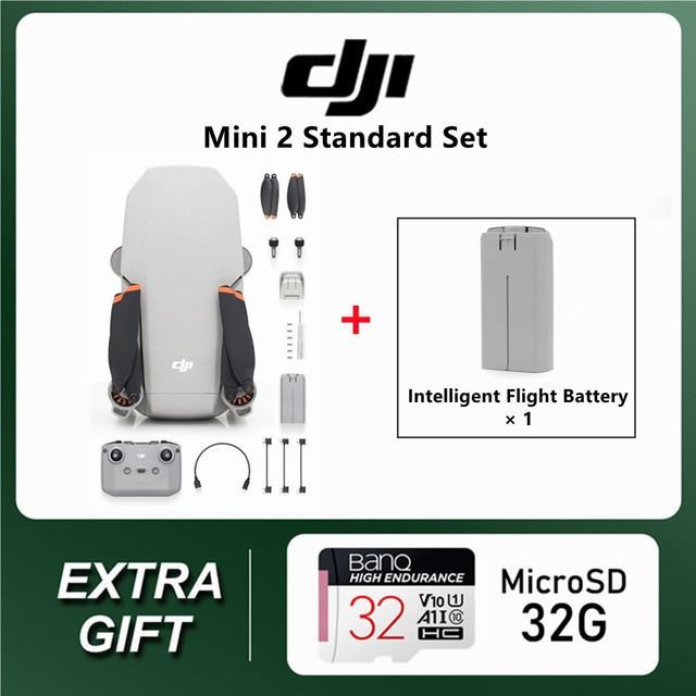 DJI Mavic Mini 2 2pcs batteries