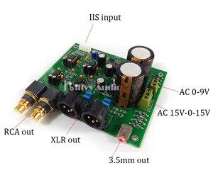 Image 4 - ES9028Q2M ES9038Q2M DACสำหรับHifiเครื่องขยายเสียงถอดรหัสXLR Out I2SอินพุตรองรับI2S 32bit 192K DSD64 128 256