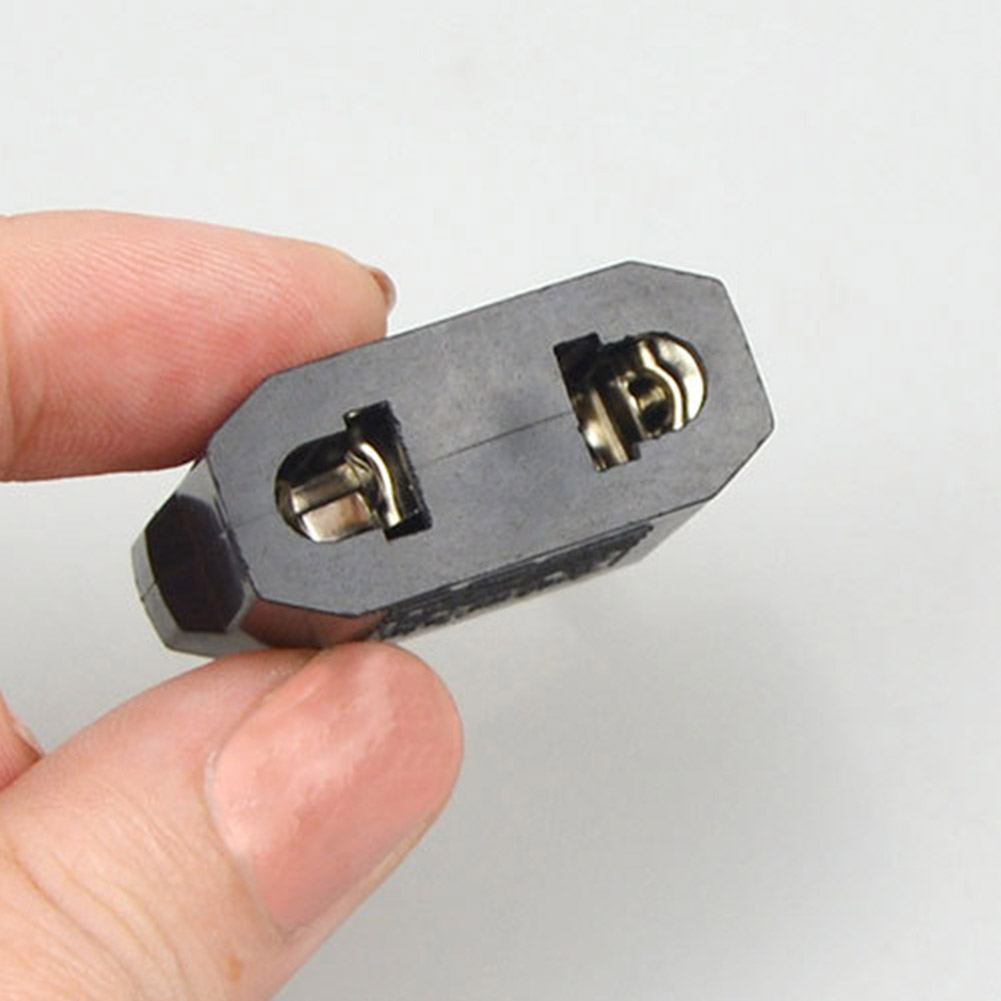 1PCS European EU Plug Adapter China To EU Euro Travel Power Adapter Plug 5A 2 Round Adapter Outlet Converter Socket #LM45