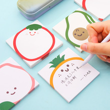New arrive cute Kawaii fruit memo pad sticky notes stationery sticker posted it planner stickers notepads office school supply