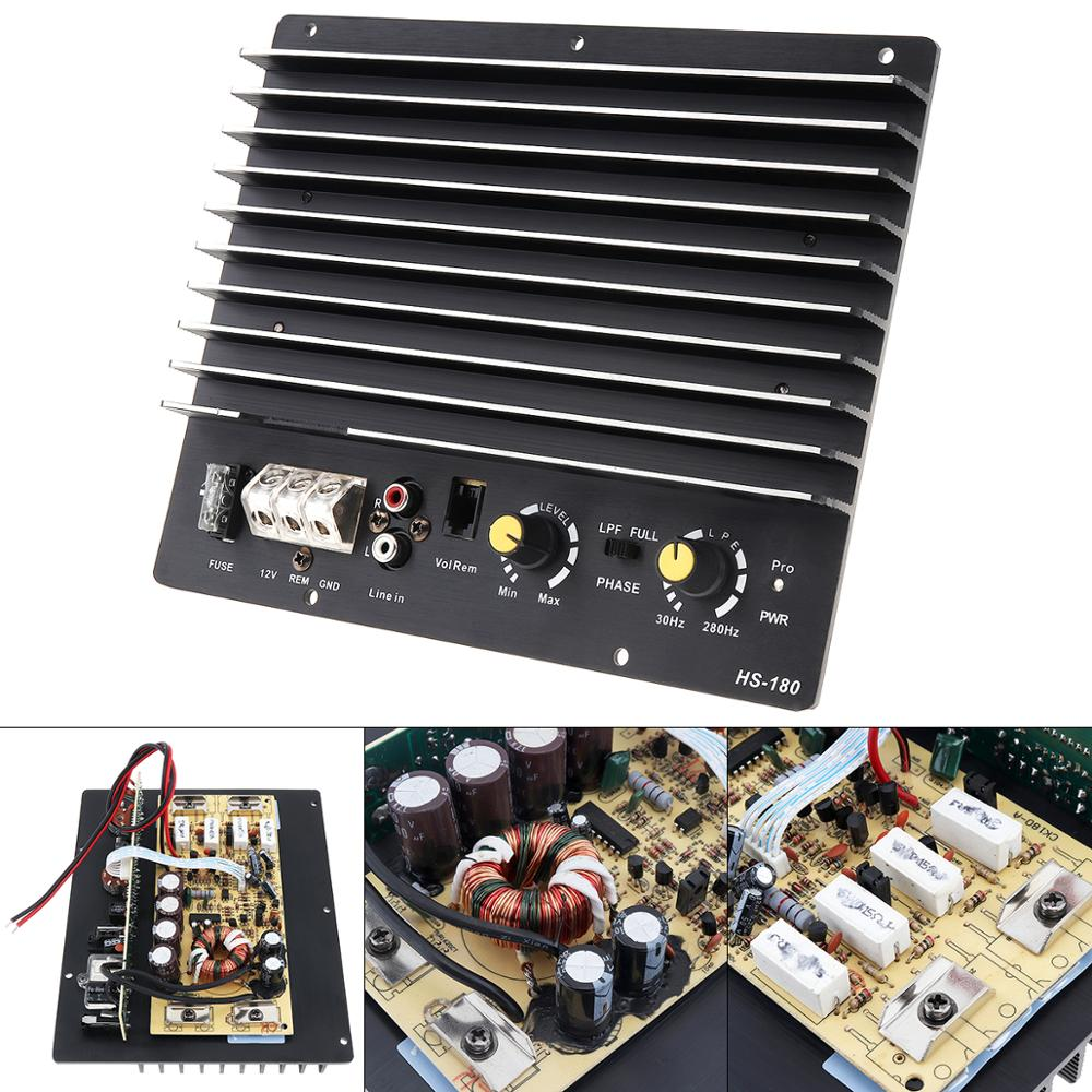 12V 1000W Car Amplifier Board Bass Subwoofer Audio High Power for Low Sound Speaker Home