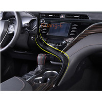 For Toyota New Camry XV70 2017 2018 2019 2020 Car Glove Box Cover Trim Middle Console Control Dashboard GPS Panel Stick