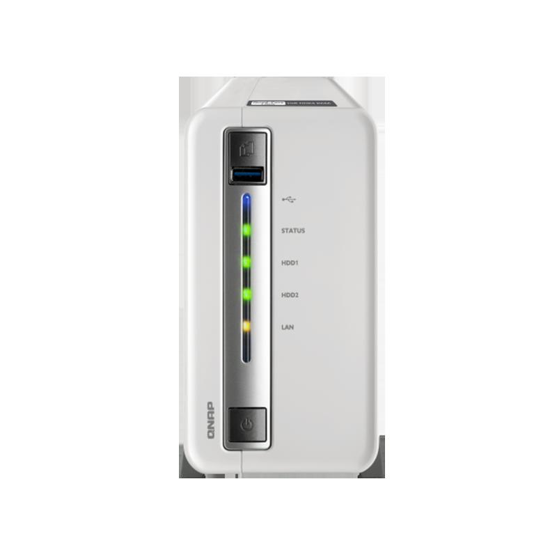 QNAP TS-212P3 Four-core Dual-disk NAS Network Storage Server, Home Private Cloud Server QNAP TS-212P3 Nas