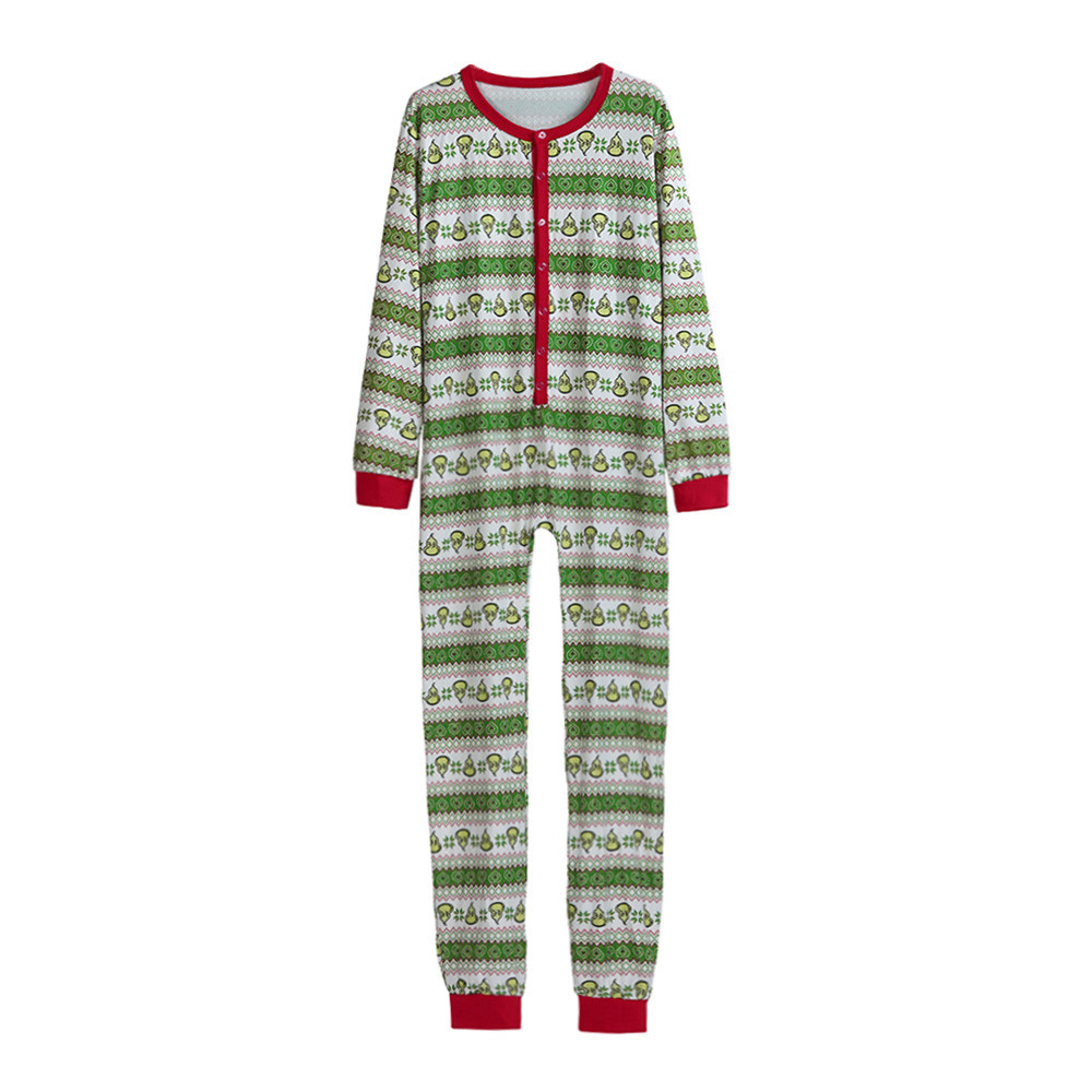 Christmas Onesie Pyjama Homme Men Sleepwear Hooded Pajamas Nightwear Long Sleeve Jumpsuit D91116