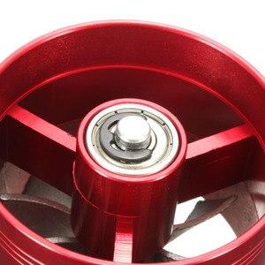 Image 5 - Universale 64.5 millimetri x 50mm Auto Filtro Aria di Aspirazione del Ventilatore Fuel Gas Saver Supercharger Per Caricabatterie Turbina Turbo Turbocompressore