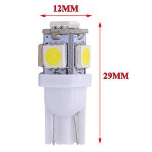 20 шт T10 светодиодный номерного знака автомобиля Подсветка салона лампы 6000K белый 168 2825 194 W5W, Длительное Действие, светодиодный светильник 50000 час сигнальная лампа