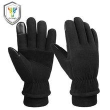 Зимние перчатки OZERO-30 °F, теплые перчатки с защитой от холода, теплые флисовые Утепленные перчатки из овечьей шерсти, теплые руки в холодную п...