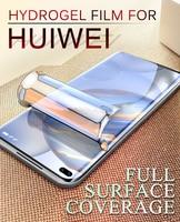 Honor Note 10 8 V9 pellicola salvaschermo in idrogel per Huawei Play 4T 4E Pro pellicola protettiva morbida 8Pro Magic 2 V10 V20 V30