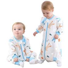 Bebek uyku tulumu, zarf yaz, yeni doğan bebek pijamaları, bölünmüş bacak uyku tulumu, çocuk uyku tulumu, 0-5 yaşında