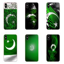 Soft Covers Cases Pakistan National Flag For Xiaomi Mi3 Mi4 Mi4C Mi4i Mi5 Mi 5S 5X 6 6X 8 SE Pro Lite A1 Max Mix 2 Note 3 4